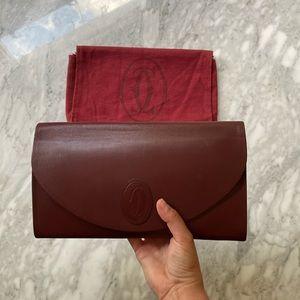 """Cartier Vintage """"Les Must de Cartier"""" clutch"""